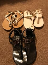 Summer sandals all for 10