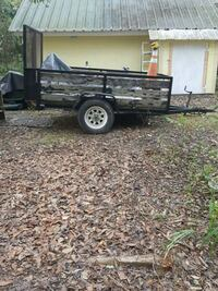 black and brown utility trailer New Port Richey