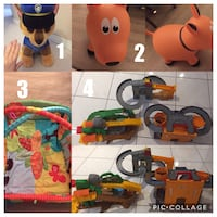Toy purge! Thomas, farm hopper, chase and playmat 3156 km
