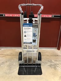 Cosco 2-in-One Convertible Hand Truck w/ Never-Flat Tires - Brand New Montgomeryville, 18936