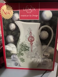 Lenox Christmas Pitcher