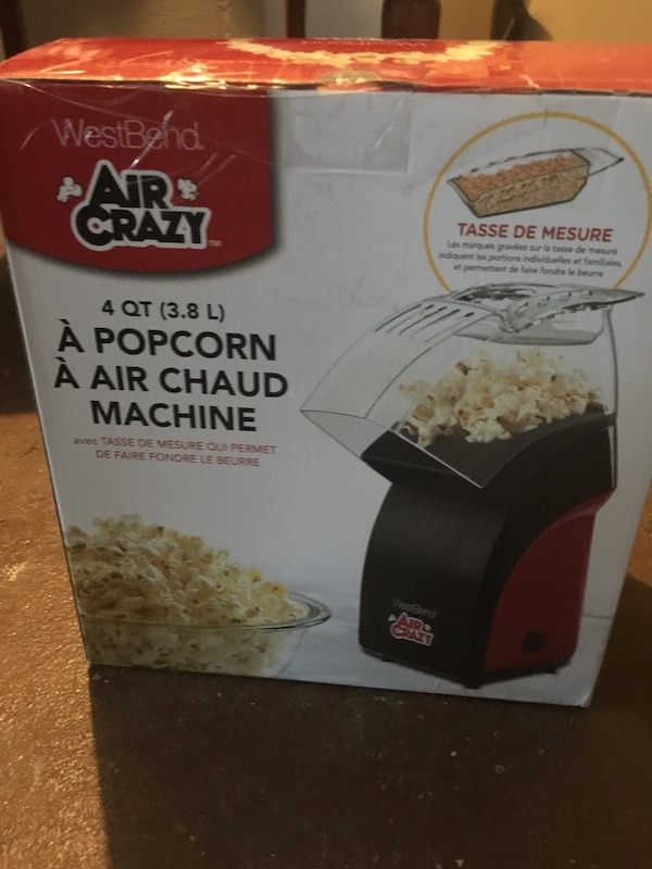 Used Brand New West End Air Crazy Popcorn Machine For Sale In