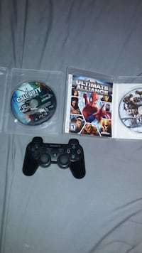 Ps3 Controller And games  Surrey, V3R 1T5