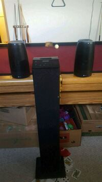 black and gray home theater system Red Deer, T4R 2E9