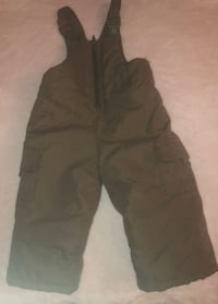 LIKE NEW TODDLER SNOWPANTS SIZE 12 MONTHS