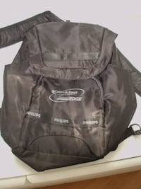 NEGOTIABLE - BRAND NEW LIGHT 100 % POLYESTER KNAPSACK, BACKPACK WITH 8 POCKETS