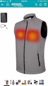 Sunbond heated vest