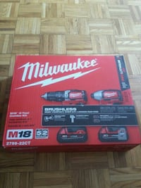 Milwaukee brushless drills Waterloo, N2L 4S9