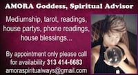 Psychic readings I have 20 yrs Exp!
