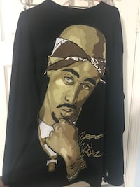 Tupac Long Sleeve Shirt - 2XL