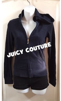 JUICY COUTURE Zip Up Hoodie Sweater: Size XS Toronto, M6G