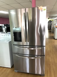 Kenmore stainless steel double French door refrigerator  Woodbridge, 22191