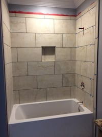 Floors and stand up shower