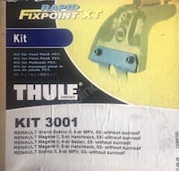 Thule fitting kit 3001 Alanya, 07430