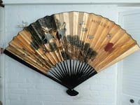 Asian decorative fan-Available Arlington