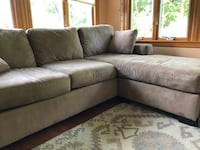 BROWN COUCH!