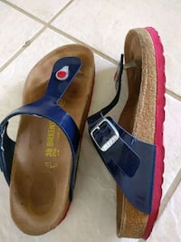 pair of red-and-blue sandals Kailua, 96734