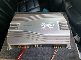 gray Sony Xplod power amplifier 300watts ...