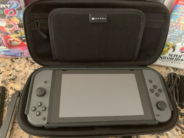 Nintendo Switch- Mario Kart - Smash Bros - Protective Case and Carrying Case - Screen Protector bde84b23-1451-4900-bac5-7d894ad8c4b9