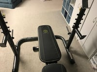Golds gym XRS 20 weight bench Burke, 22015