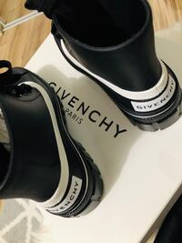 Givenchy Rain Boots BNIB with dustbag, authentic Toronto, M9R 2L6