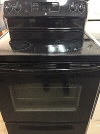Smooth top stove in black Fort Lauderdale, 33312