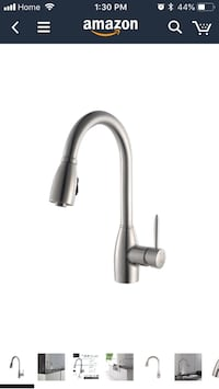Kraus KPF-2130 Single Lever Stainless Steel Pull Out Kitchen Faucet Toronto, M3K 1H5