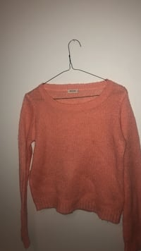 orange knit wide-neck sweater Winnipeg, R2N 2V6