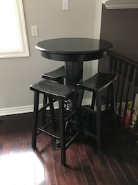 Bar table with three stools Aurora, L4G 3P9