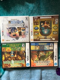 Professor Layton DS and 3DS Surrey, V3X 2N7