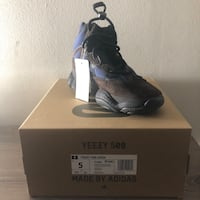 Yeezy High Tyrian Size 5 - New! Authentic!