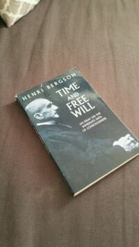 Time and Free Will book