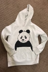 Hoodie cat and jack girls size 12 panda  Des Moines, 50317