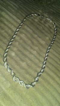 Thick Silver Plated Necklace  Winnipeg, R3P 0R2