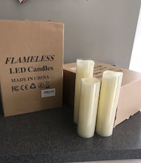 Flameless LED candles - 2sets, 9 in each Washington, 20024