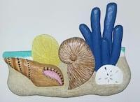 Hand carved by Cayman Island artist P. Palinski  Dover, 19904