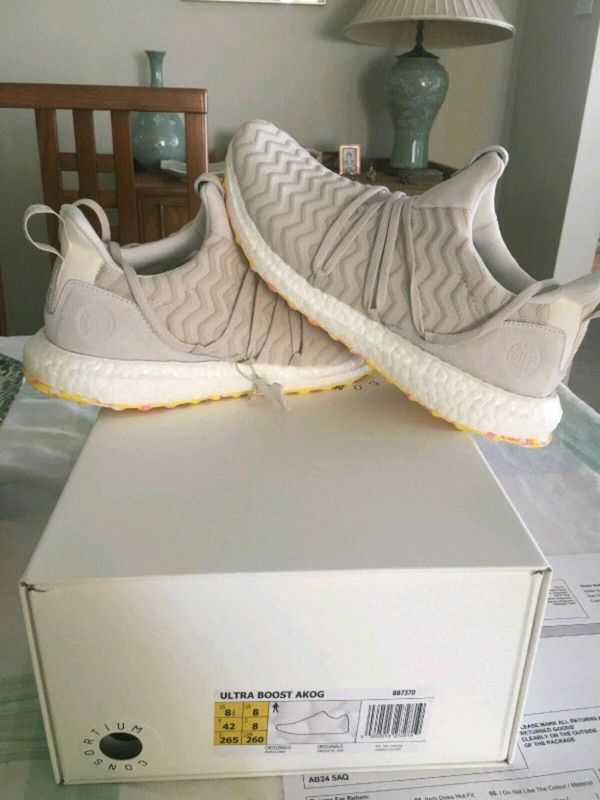 the best attitude b24b3 c4dcf Used AKOG x adidas ultraboost, US Size 8, Brand New for sale in Queens -  letgo