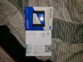 WD blue 500GB & chip reader (cardless)