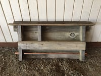 Reclaimed barn wood. Towel rack Ellensburg, 98926