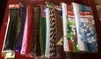 1,200+ Pipe Cleaners, Craft Supplies For Sale - Most New, Sealed Burlington