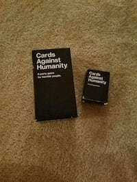 Cards Against Humanity + first expansion pack Alexandria