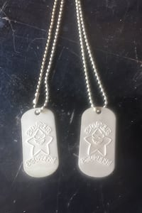 Two single student dog tag necklaces Bakersfield, 93308
