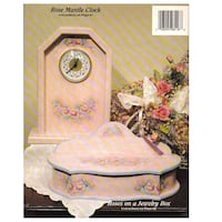 DECORATIVE PAINTING PATTERN BOOK THE PAINTED GARDEN 8418 BY MARTY LAMBETH-BEARY Hanover