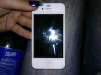 white iPhone 4 with black case Chicago, 60629