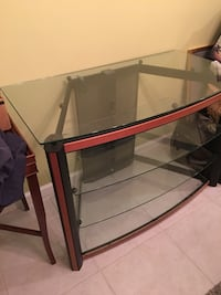 Glass TV stand Temescal, 92883