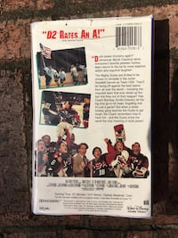 D2 THE MIGHTY DUCKS VHS FOR KIDS