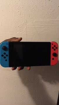 blue and red Nintendo Switch 48 km