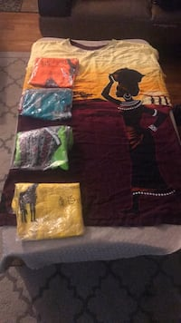 long traditional africa dress from africa Ivory Coast (west africa)with different color  $15 each  Dumfries, 22026