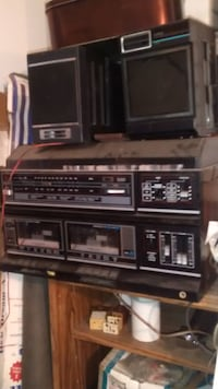 Recorder, radio, record player, cassette player, and stereo