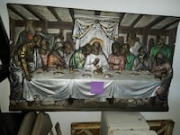 Last supper wall hanging Highland Charter Township, 48356